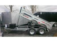 2016 K-Trail 6x10 HD 10000lbs Dump Trailer    ( NO MORE RUST )
