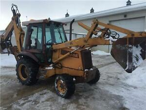580K Case 4x4 Backhoe