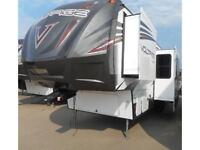 2016 VOLTAGE 3305 FIFTH WHEEL TOY HAULER - BIG PRICE REDUCTION