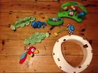 Fisher price jumperoo rainforest spare parts