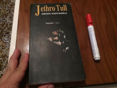 JETHRO TULL book from MIDDLE EAST 350 pages CONCERTS LYRICS PHOTOS ALBUMS !