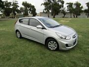 2016 Hyundai Accent RB3 MY16 Active Silver 6 Speed Constant Variable Hatchback Invermay Launceston Area Preview