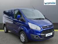 2014 Ford Transit Custom 2.2 TDCi 125ps Low Roof Limited Van Diesel blue Manual