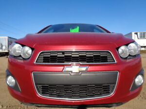 2012 CHEVROLET SONIC LT-SUNROOF-1.8L 4 CYL-AUTO-ONE OWNER
