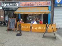 sandwich / coffee bar cafe