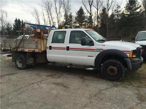 2007 Ford F-450 Dump Truck and Snow Plow