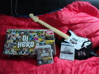 Table tournante mix DJ Hero