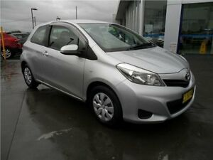 2011 Toyota Yaris NCP130R YR Silver 4 Speed Automatic Hatchback Telarah Maitland Area Preview