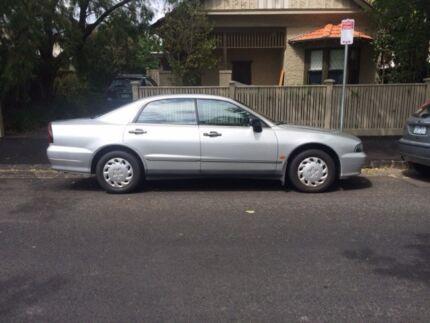 1998 Mitsubishi Magna Sedan- rego till May  Elwood Port Phillip Preview