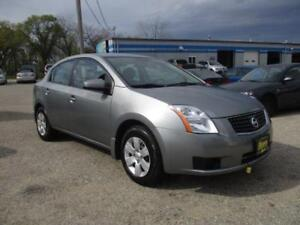 2007 NISSAN SENTRA 2.0, SAFETY AND WARRANTY $5,450