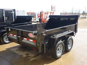 CLEARENCE DUMP TRAILER 3.5 TON W/10' BOX - LOW PRICE- BEST VALUE London Ontario image 2