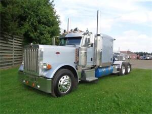 2006 PETERBILT 379L FLAT TOP, REBUILT CAT C15, ONE OWNER TRUCK !