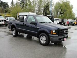 2006 FORD F-250 SUPER DUTY XL REGULAR CAB LONG BOX 2WD 3/4 TON
