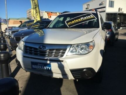 2012 Subaru Forester S3 MY12 X AWD White 4 Speed Sports Automatic Wagon
