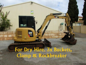Excavator For Hire 5 Tonne with buckets, Clamp & Rockbreaker Pickering Brook Kalamunda Area Preview