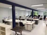 AVAILABLE Hackney warehouse, E2 - group or individual desk space