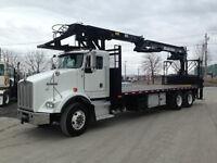 Kenworth T800 Boom Truck / Camion à grue Atlas 250.1