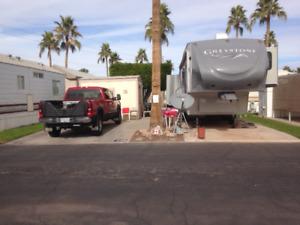 RV Space Oct/19 thru April 2020 in Yuma Arizona Park