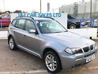 BMW X3 3.0 D M SPORT 5d 215 BHP (grey) 2005