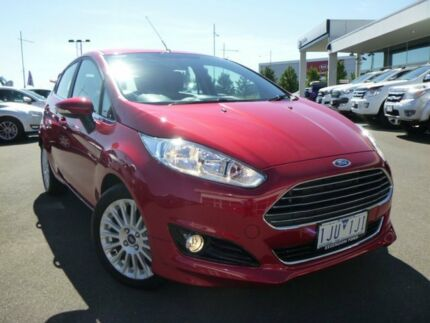 2017 Ford Fiesta WZ Sport Candy Red 5 Speed Manual Hatchback