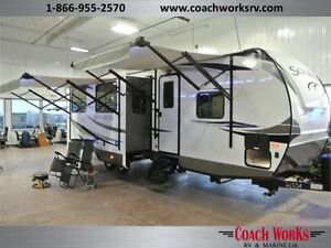 2017 Solaire 312 TSQBK Ultra-Lite Deluxe Quad Bunk Call Mike