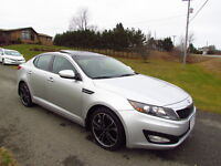 2011 Kia Optima EX:LOADED!HEATED/COOLED LEATHER! NAV! PAN ROOF!