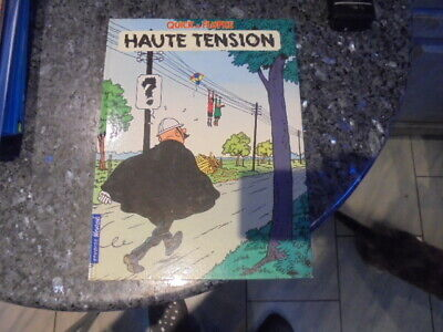 belle reedition quick et flupke haute tension