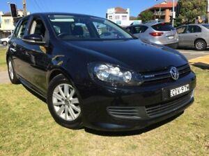 2011 Volkswagen Golf VI MY12 BlueMOTION Black Manual Hatchback Yagoona Bankstown Area Preview