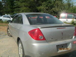 PARTING OUT 2006  Pontiac G6
