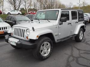 2009 Jeep Wrangler Unlimited Sahara Zero Down Financing!!!!