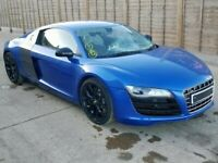 AUDI R8 2008-2015 BREAKING SPARES AIRBAG LEATHER SEATS ALLOY DOORS AXLE HUBS CORNERS