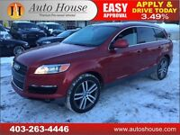 2009 Audi Q7 4.2 LEATHER ROOF NAVI 7 PASSENGER $22488