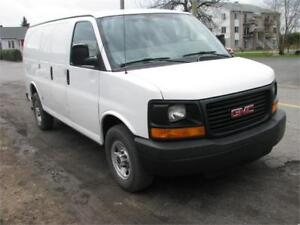 GMC SAVANA 2008 CARGO 2500 FINANCEMENT MAISON FACILE
