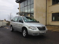 Chrysler Grand Voyager 2.8 CRD Diesel 2007 Silver in Perfect Condition!!!
