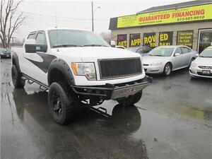 2010 Ford F-150 FX4 - LIFTED - LOADED - CUSTOM EXHAUST - WOW!!