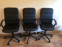 IKEA Swivel chair BLACK