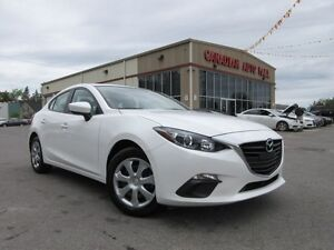 2016 Mazda MAZDA3 GX A/C, BT, LOADED, 19K!