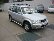 2001 Honda CR-V (4x4) Sport Silver 4 Speed Automatic 4x4 Wagon Harris Park Parramatta Area Preview
