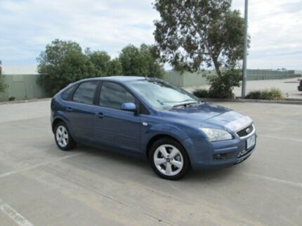 2006 Ford Focus LS LX Blue 5 Speed Manual Hatchback Epping Whittlesea Area Preview