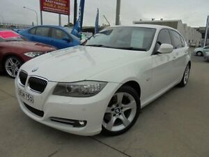 2010 BMW 323I E90 MY11 Lifestyle White 6 Speed Auto Sports Mode Sedan Holroyd Parramatta Area Preview