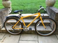 Small Specialised Mountain Bike in Yellow