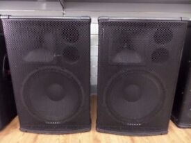 Behringer B1520 speakers