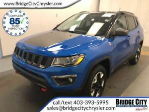 2018 Jeep Compass Trailhawk 4x4- NAV, Heated Seats, Power Gate!