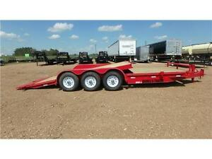 2016  24' Tri Axle Cushion Tilt Equip Trailer  Double A
