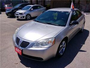 2007 Pontiac G6 GT -Certified & E-tested LOW LOW K'S ONLY$79 WK