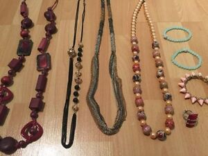 Fashion Jewellery- 8 pieces