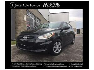 2012 Hyundai Accent GLS - LOW KM! AUTO, A/C, POWER GROUP!