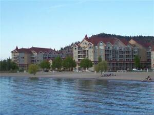 DOWNTOWN KELOWNA WATERFRONT 2 BED 2 BATH CORNER UNIT
