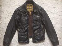 Superdry 'Brad' leather Jacket