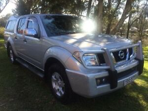 2009 Nissan Navara D40 ST-X (4x4) Silver 6 Speed Manual Dual Cab Pick-up Tuggerah Wyong Area Preview